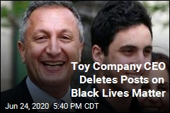Toy Company CEO Deletes Posts on Black Lives Matter