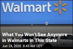 What You Won't See Anymore in Walmarts in This State