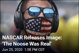 NASCAR Releases Image: 'The Noose Was Real'