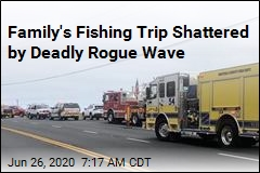 Rogue Wave Kills 3 Members of Family