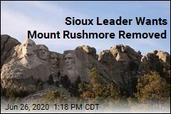 Oglala Sioux Leader: Remove Mount Rushmore