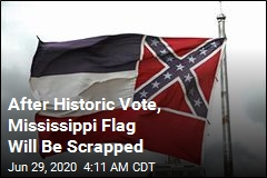 After Historic Vote, Mississippi Flag Will Be Scrapped