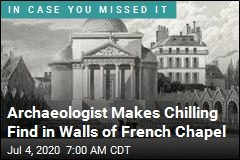 In Walls of Chapel, a Chilling Find on French Revolution