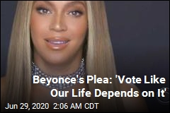 Beyonce's Message at BET Awards: Vote