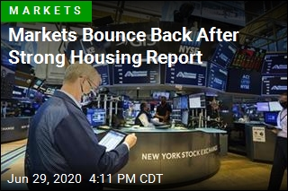Markets Bounce Back After Strong Housing Report