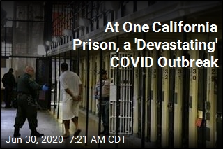 At One California Prison, a 'Devastating' COVID Outbreak