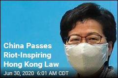 China Just Passed Contentious Hong Kong Law