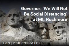 Governor: 'We Will Not Be Social Distancing' at Mt. Rushmore