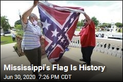 Mississippi's Flag Is History