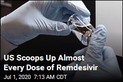 US Scoops Up Almost Every Dose of Remdesivir