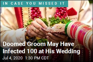 Doomed Groom May Have Infected 100 at His Wedding