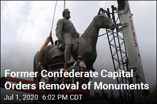 Former Confederate Capital Orders Removal of Monuments