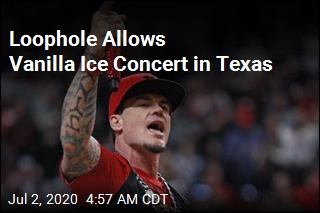 Loophole Allows Vanilla Ice Concert in Texas