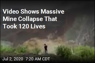 Video Shows Massive Mine Collapse That Took 120 Lives