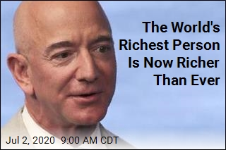 The World's Richest Person Is Now Richer Than Ever