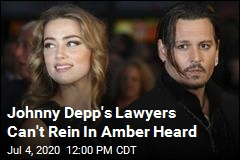 Johnny Depp's Lawyers Can't Rein In Amber Heard