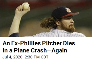 Another Ex-Phillies Pitcher Dies in a Plane Crash