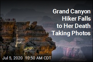 Grand Canyon Hiker Falls to Her Death Taking Photos