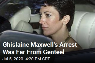 Ghislaine Maxwell's Arrest Was Far From Genteel
