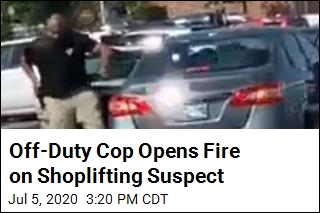 Off-Duty Cop Opens Fire on Shoplifting Suspect