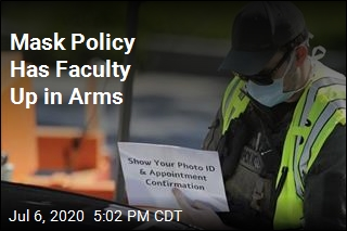 Mask Policy Has Faculty Up in Arms