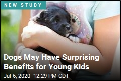 Dogs Might Help Kids Be Better Kids