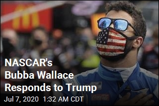 Here's What Bubba Wallace Has to Say About Trump