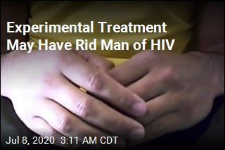 Experimental Treatment May Have Rid Man of HIV