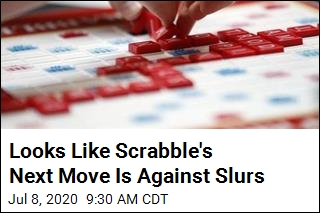 Looks Like Scrabble's Next Move Is Against Slurs