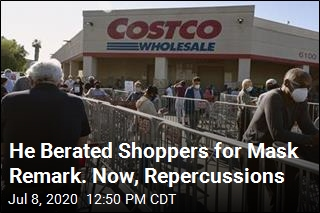 Company Cans Maskless Man Who Berated Costco Shoppers