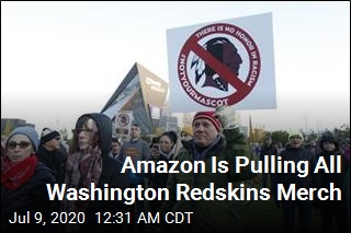 Amazon Is Pulling All Washington Redskins Merch
