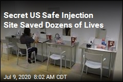 Secret US Safe Injection Site Saved Dozens of Lives