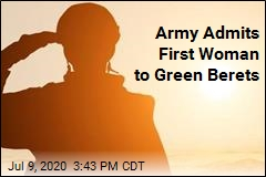 Army Admits First Woman to Green Berets