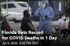 In 1 Day, Florida Loses 120 COVID-19 Patients