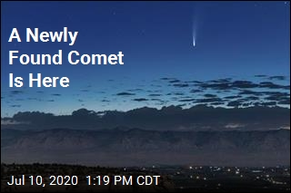 A Newly Found Comet Is Here