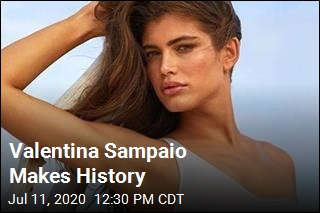 Valentina Sampaio Makes History