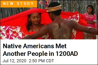 Native Americans Met Another People in 1200AD