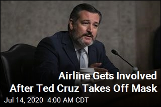 Airline Gets Involved After Ted Cruz Takes Off Mask