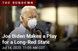Joe Biden Makes a Play for a Long-Red State