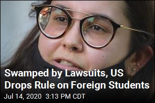 Swamped by Lawsuits, US Drops Rule on Foreign Students