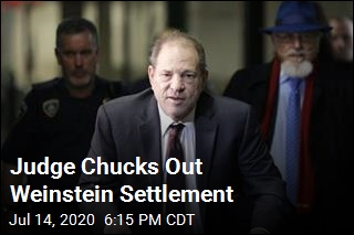 Judge Chucks Out Weinstein Settlement