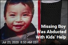Missing Boy Was Abducted With Kids' Help