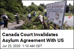 Canada Court Invalidates Asylum Agreement With US