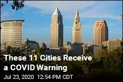 These 11 Cities Receive a COVID Warning