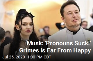 Grimes Tweet to Musk: 'I Cannot Support Hate'