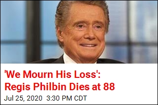 'We Mourn His Loss': Regis Philbin Dies at 88
