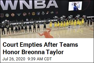 Teams Honor Breonna Taylor, Walk Out During Anthem