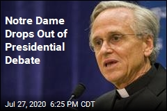 Notre Dame Won't Host Debate After All