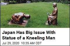 Japan Has Big Issue With Statue of a Kneeling Man