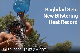 Baghdad Shatters Heat Record